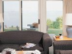 Wyndham Newport Overlook Two Bedroom Living Area