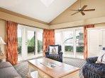 Wyndham Newport Overlook living room