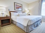 Wyndham Long Wharf bedroom