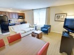 Wyndham Long Wharf living room