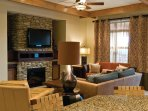 Wyndham Vacation Resorts Great Smokies Lodge living room