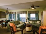 Wyndham SeaWatch Plantation living room