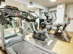 Wyndham Newport Onshore fitness area