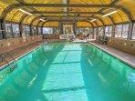 Wyndham Newport Onshore indoor pool