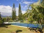 Wyndham Ka Eo Kai tennis courts