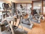 Wyndham Long Wharf fitness area