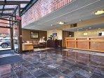 Wyndham Inn on the Harbor lobby