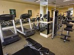 Wyndham Grand Desert fitness area
