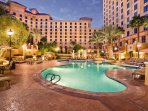 Wyndham Grand Desert outdoor pool