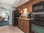 Wyndham Vacation Resort Towers on the Grove kitchen