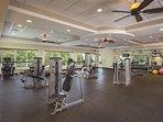 Wyndham Bali Hai Villas fitness area