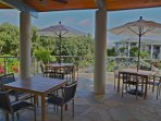 Wyndham Bali Hai Villas terrace