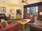 Wyndham Sedona living room