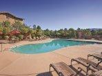 Wyndham Sedona outdoor pool