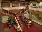 Wyndham Vacation Resorts Great Smokies Lodge lobby