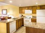 Wyndham Smoky Mountains kitchen