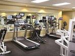Wyndham Smoky Mountains fitness area