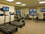 Wyndham Vacation Resorts Great Smokies Lodge fitness area