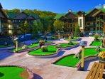 Wyndham Smoky Mountains mini golf