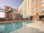 Wyndham Vacation Resorts At National Harbor outdoor pool