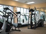 Starr Pass Golf Suites fitness area