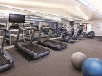 Wyndham Vacation Resorts Steamboat Springs fitness area