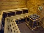 Wyndham Vacation Resorts Steamboat Springs sauna