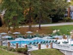 Wyndham Patriots' Place outdoor pool