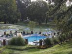 Wyndham Patriots' Place outdoor pool