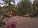 WorldMark Bend Seventh Mountain Resort terrace