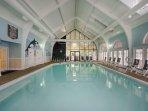 Wyndham Kingsgate indoor pool