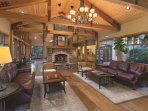 WorldMark Bend Seventh Mountain Resort lobby