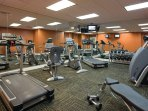 Wyndham Nashville fitness area