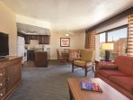 Havasu Dunes Resort living room