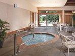 WorldMark McCall indoor hot tub