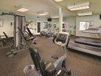 WorldMark Long Beach fitness area