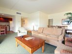 Wyndham Royal Sea Cliff living room