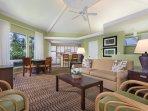 Wyndham Mauna Loa Village - Living Room