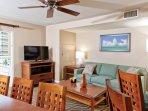 Wyndham at Waikiki Beach Walk - Living Room