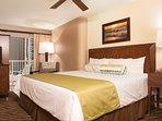 Wyndham at Waikiki Beach Walk - King  Master Bedroom