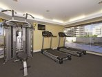 Wyndham Vacation Resorts Royal Garden at Waikiki fitness room