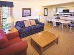 Wyndham Resort at Fairfield Bay living room