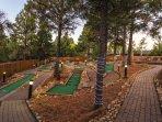 Wyndham Flagstaff mini golf