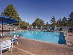 Wyndham Flagstaff outdoor pool