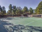Wyndham Flagstaff tennis court