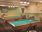 Wyndham Mountain Vista game room