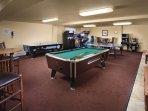 WorldMark Estes Park gameroom