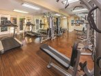 Desert Rose Resort fitness area