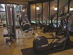 Carriage Ridge Resort fitness area