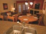 Carriage Ridge Resort kitchen